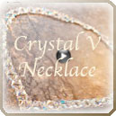 Crystal V Necklace