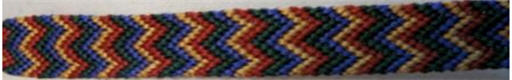 double chevron friendship bracelet
