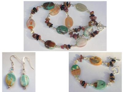 Fire Agate Set