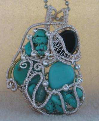 Turquoise in Sculpture